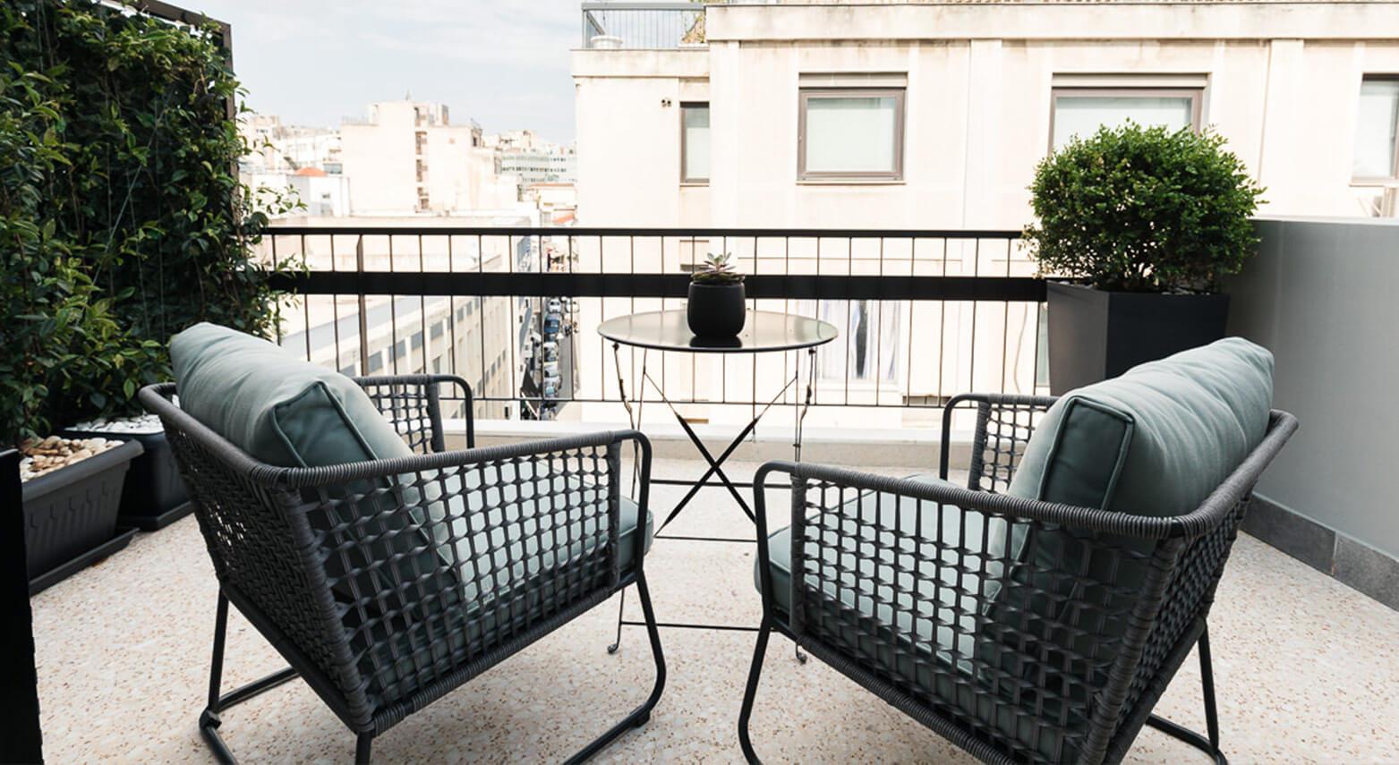 June Penthouse WT Balcony